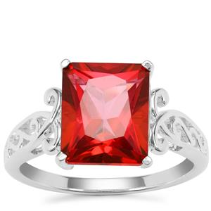 Cruzeiro Topaz Ring in Sterling Silver 5.32cts