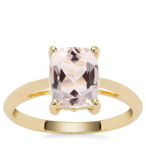 Alto Ligonha Morganite Ring in 9K Gold 1.84cts
