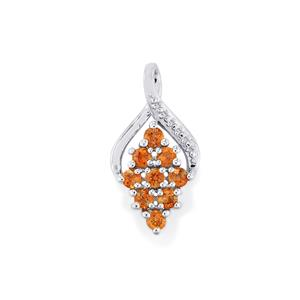Gouveia Andalusite Pendant in Sterling Silver 1.03cts