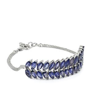 Bengal Iolite Bracelet in Sterling Silver 11.46cts