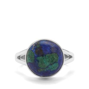6.08ct Azure Malachite Sterling Silver Aryonna Ring