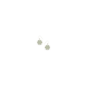1.32ct Chrome Tourmaline Sterling Silver Earrings