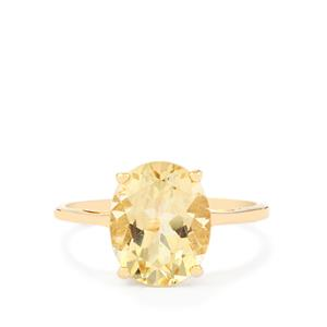 Serenite Ring in 10k Gold 3.26cts