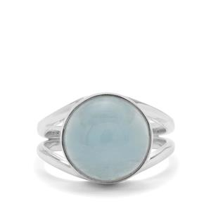 Aquamarine Ring in Sterling Silver 7.30cts