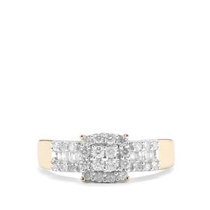 Diamond Ring in 10k Gold 0.50ct