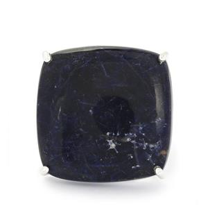 29.01ct American Sodalite Sterling Silver Aryonna Ring