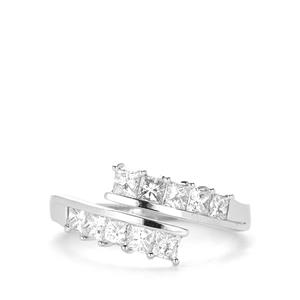 Diamond Ring in Platinum 950 1cts