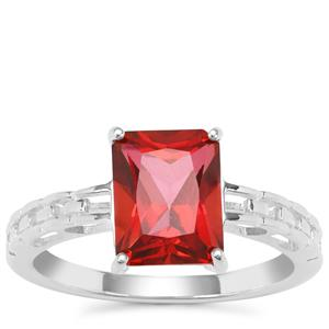 Cruzeiro Topaz Ring in Sterling Silver 2.82cts