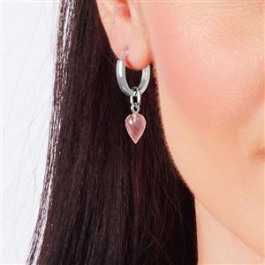 Molte Horseshoe Hoop Earrings in Sterling Silver