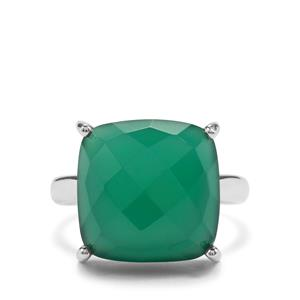 10ct Verde Onyx Sterling Silver Aryonna Ring