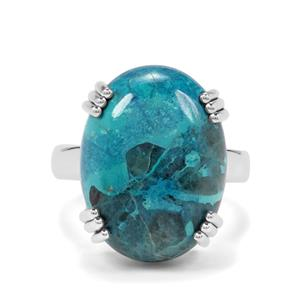 14.50ct Shattuckite Sterling Silver Aryonna Ring