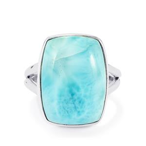 16.02ct Larimar Sterling Silver Ring