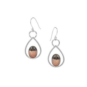 British Barite Earrings in Sterling Silver 15cts