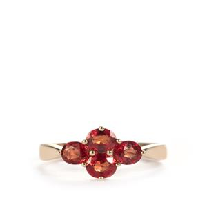 1.31ct Winza Ruby 10K Gold Ring
