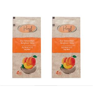 Natural Apricot Clay Mask - 24 Sachets
