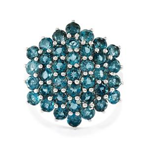 Marambaia London Blue Topaz Ring in Sterling Silver 5cts