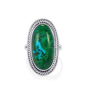 15ct Chrysocolla Sterling Silver Aryonna Ring