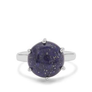 Sar-i-Sang Lapis Lazuli Ring in Sterling Silver 6.50cts