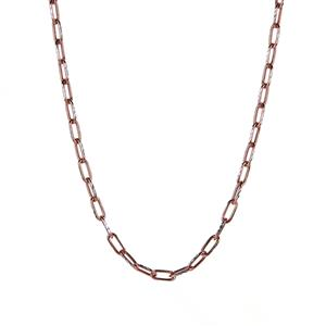 "20"" Two Tone Sterling Silver Classico Belcher Chain 4.25g"