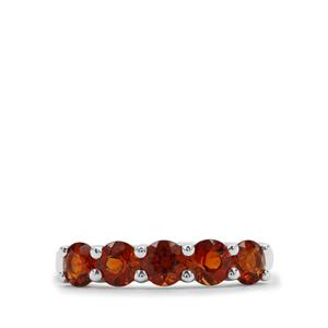 1.12ct Madeira Citrine Sterling Silver Ring