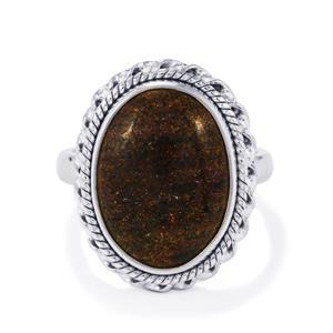 6.50ct Andamooka Opal Sterling Silver Aryonna Ring