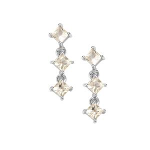 Serenite Earrings in Sterling Silver 2.05cts
