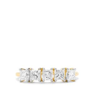 1.16ct Diamond 18K Gold Ring