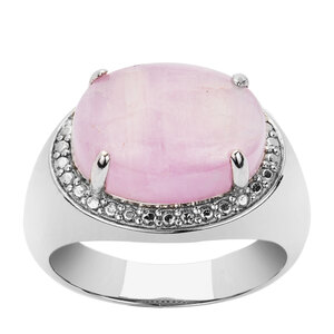 Kunzite Ring in Sterling Silver 8.15cts