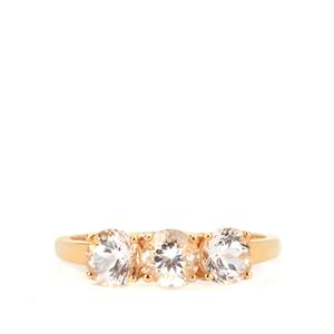 1.45ct Danburite 9K Gold Ring