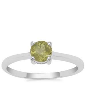 Ambilobe Sphene Ring in Sterling Silver 0.58ct