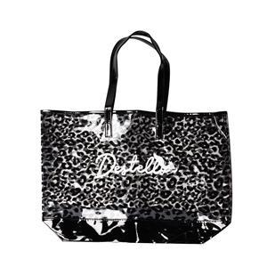 Destello Leopard Print Shopper Bag