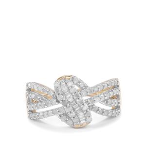 Diamond Ring in 10K Gold 0.77ct