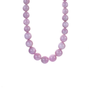 316.70ct Kunzite Sterling Silver Necklace