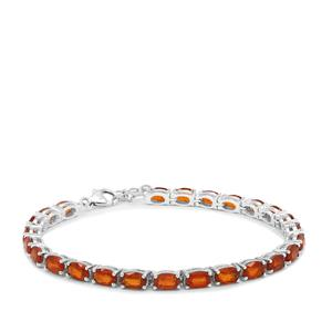 16.18ct Loliondo Orange Kyanite Sterling Silver Bracelet