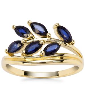 Ceylon Sapphire Ring in 9K Gold 1.11cts