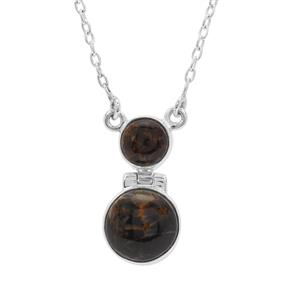 Arizona Pietersite Necklace in Sterling Silver 8.50cts