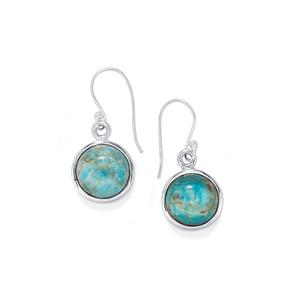 Fort-Dauphin Apatite Earrings in Sterling Silver 16cts