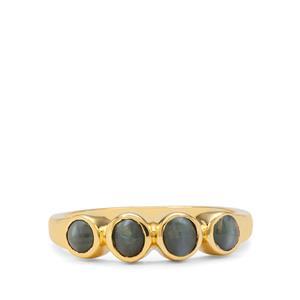1.10ct Cats Eye Alexandrite 9K Gold Ring