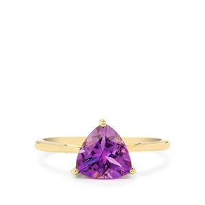 1.60ct Moroccan Amethyst 9K Gold Ring