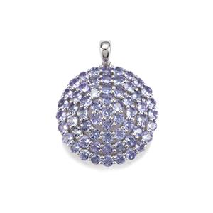 AA Tanzanite Pendant in Sterling Silver 8.17cts
