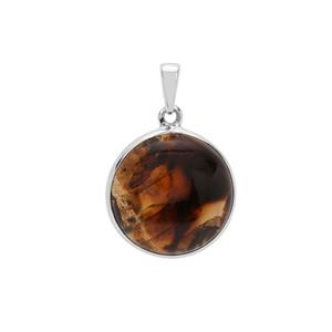Montana Agate Pendant in Sterling Silver 16.13cts