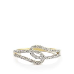 1/4ct Diamond 10K Gold Ring