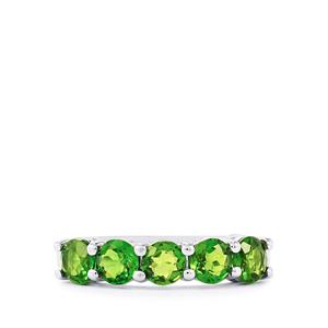 2ct Chrome Diopside Sterling Silver Ring
