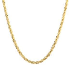 """20"""" Midas Couture Diamond Cut Criss Cross Chain 3.56g"""
