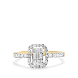1/2ct Diamond 18K Gold Tomas Rae Ring