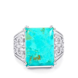 10ct Cochise Turquoise Sterling Silver Ring
