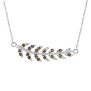 1.20ct Sopa Andalusite Sterling Silver Necklace