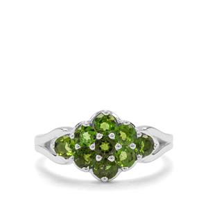 1.15ct Chrome Diopside Sterling Silver Ring
