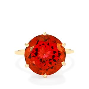 Cruzeiro Topaz Ring in 10k Gold 9.89cts