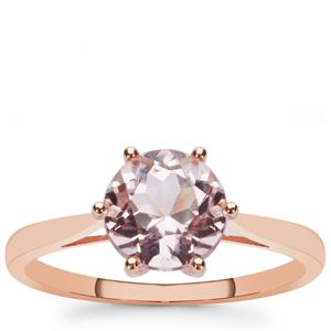 Kunzite Ring in 9K Rose Gold 1.65cts